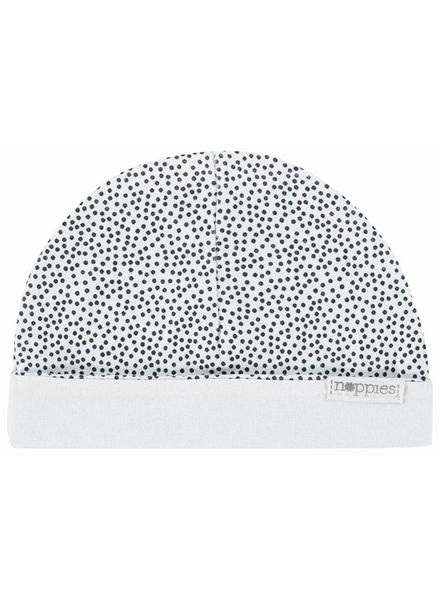 noppies mutsje 67388 dots wit 0-3 M