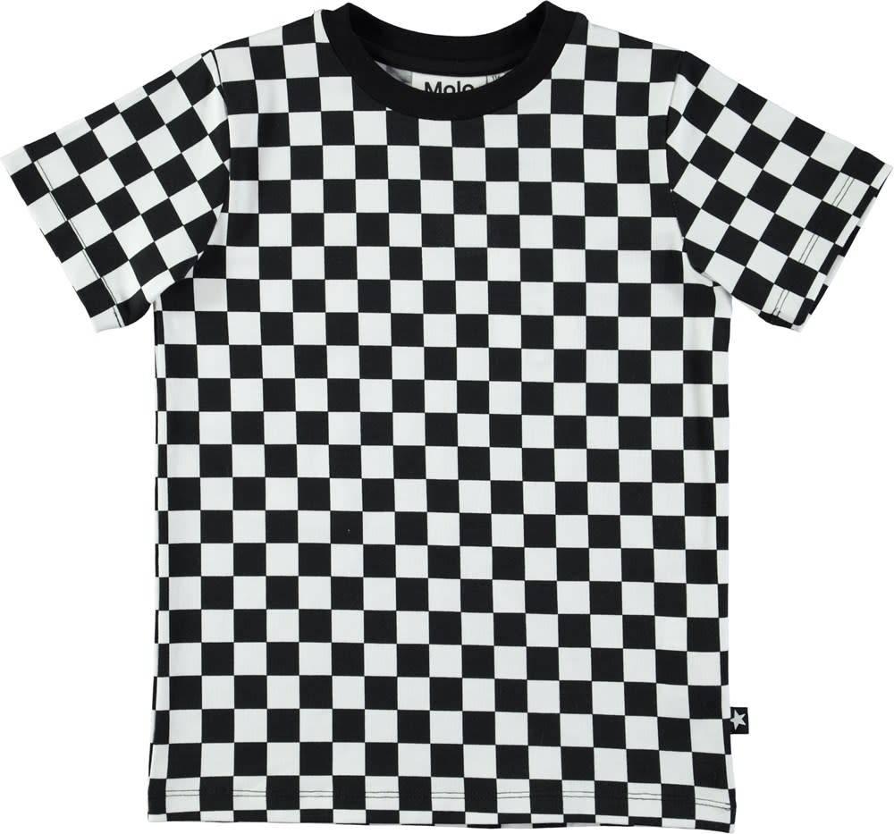 Molo Tshirt ralphie check print