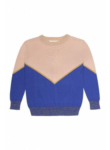Soft Gallery Leonia sweater tri color
