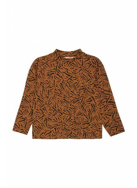 Soft Gallery Belami LS T-Shirt Tigre Small Buckthorn Brown,