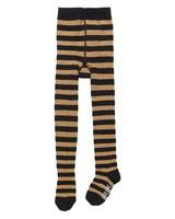 CarlijnQ Tights black/gold stripe
