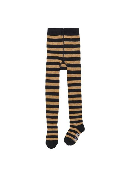 CarlijnQ Tights black/gold stripe