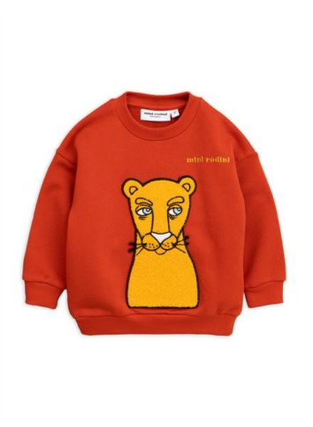 Mini rodini Cat patch sweatshirt