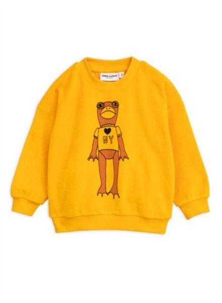 Mini rodini Frog sp terry sweatshirt