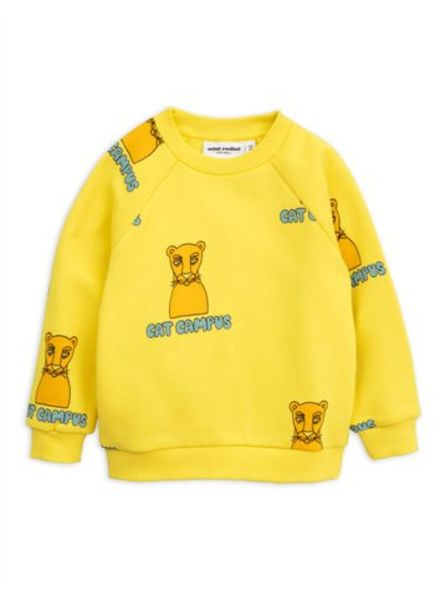 Mini rodini Cat campus sweatshirt
