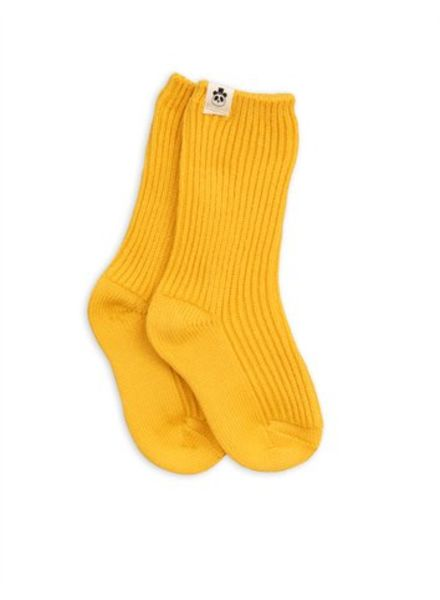 Mini rodini Wool sock yellow