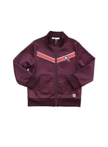 ammehoela Boris track jacket bordeaux