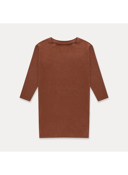 repose Tshirt dress strong chestnut