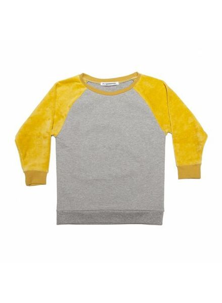 mingo Sweater Velvet Grey/Sauterne