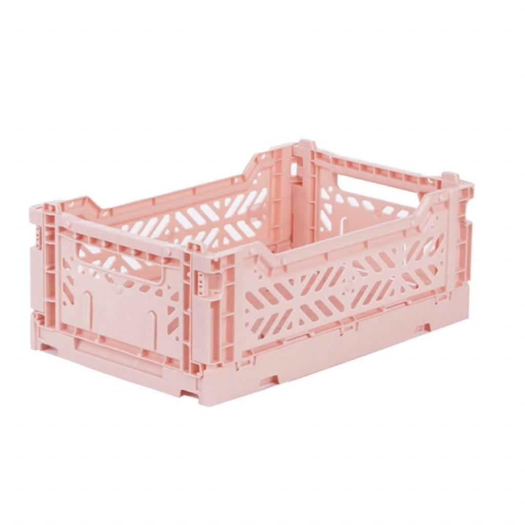 eef lillemor Folding Crate Mini Milk Tea
