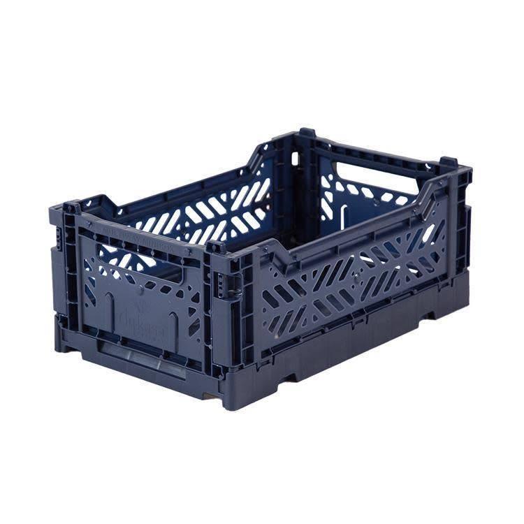 Folding Crate Mini navy
