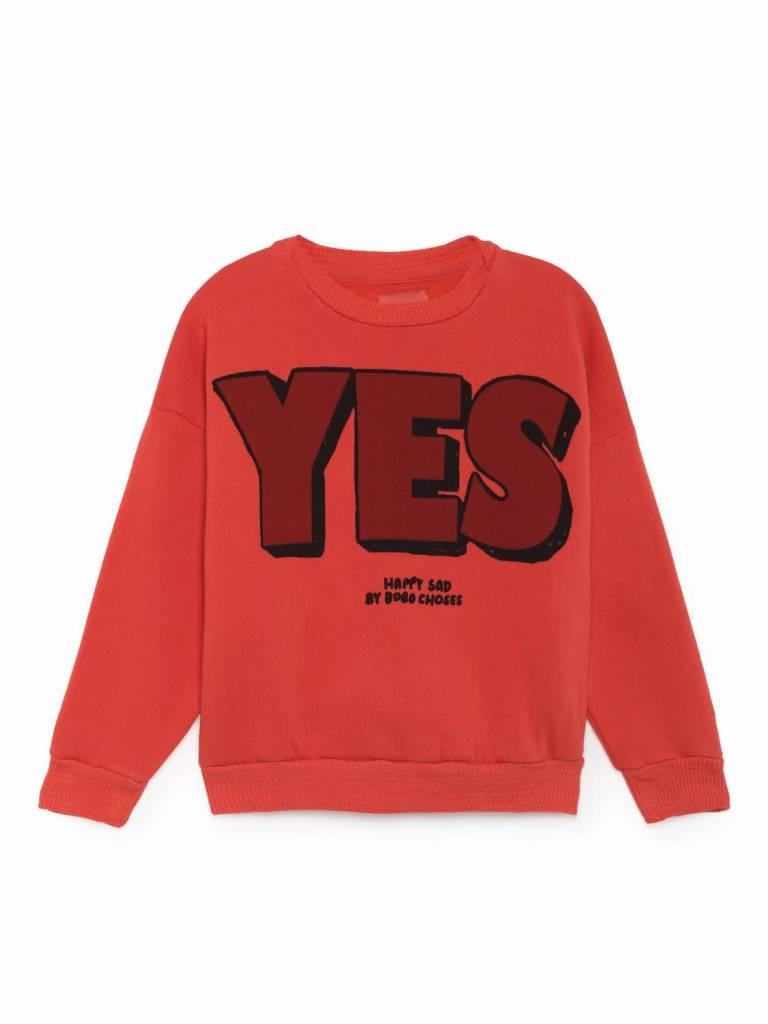 Bobo choses Yes No Round Neck Sweatshirt
