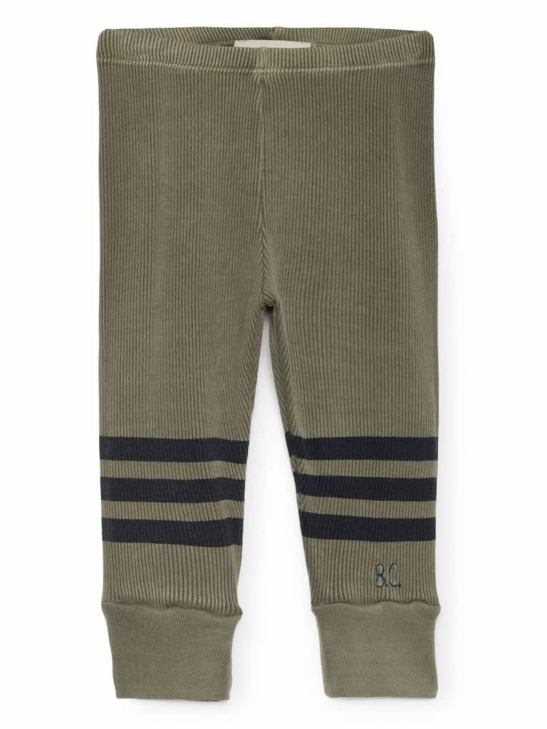 Bobo choses Blue striped leggings