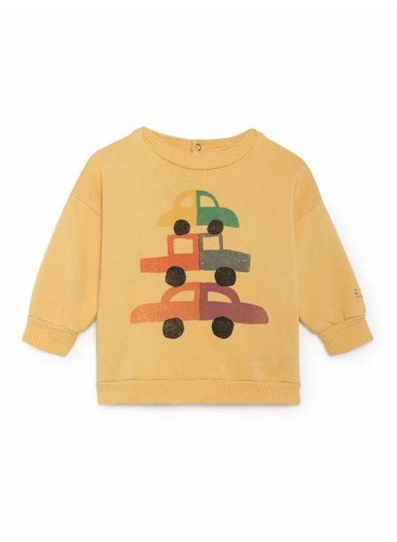 Bobo choses Cars Round Neck Sweatshirt