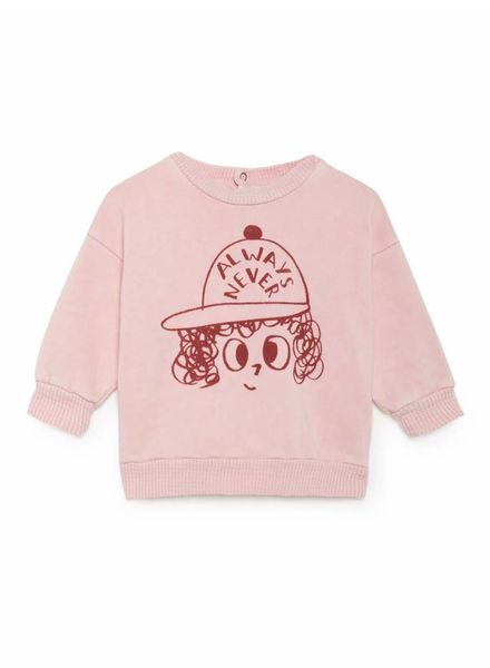 Bobo choses Always Never Round Neck Sweatshirt