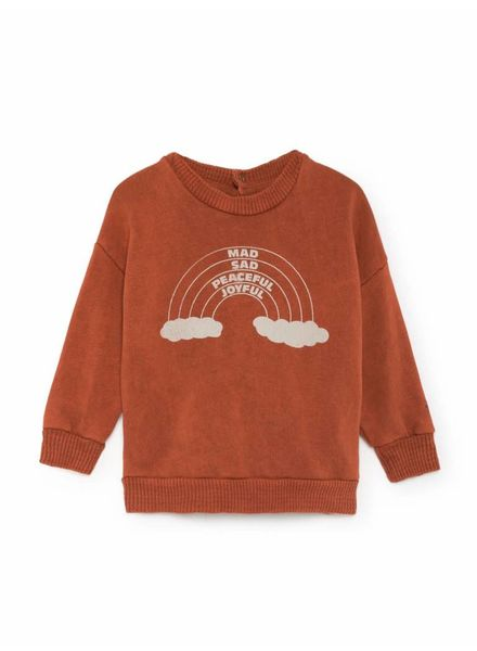 Bobo choses Rainbow Round Neck Sweatshirt