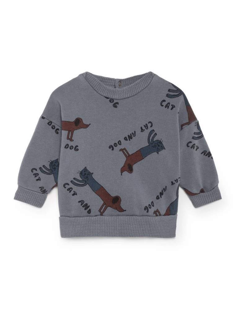 Bobo choses Cats And Dogs Round Neck Sweatshirt