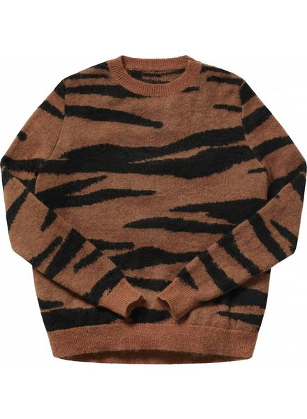 Maed for mini Mama Tiger Knit Sweater