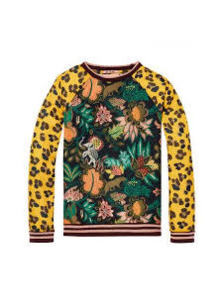 Scotch & Soda All over printed sweater 147349