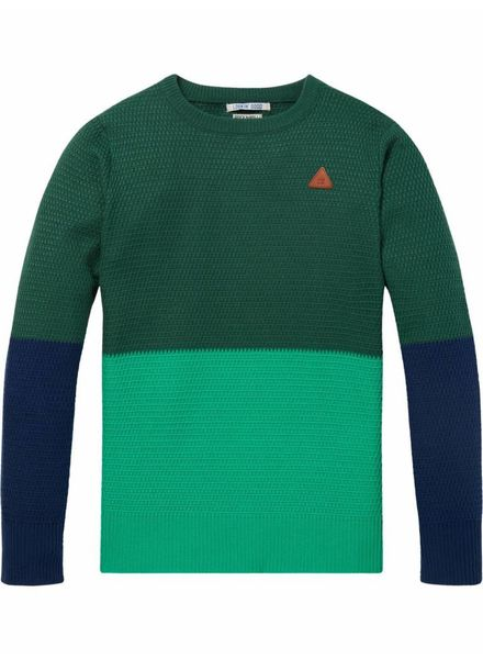 Scotch & Soda Trui Colour Block
