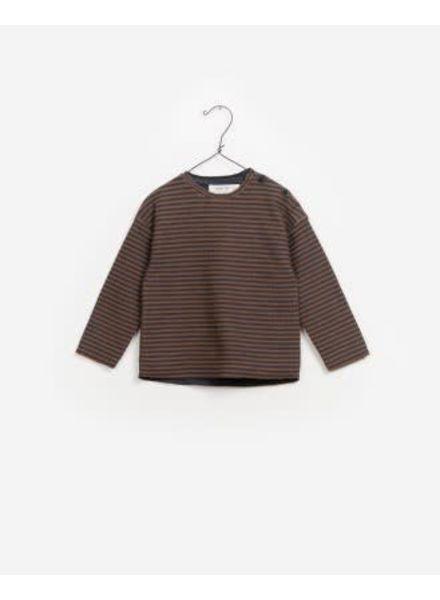 Play Up Striped Interlock Sweater