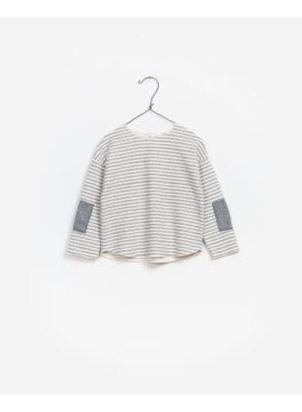 Play Up Striped Sweater Interlock
