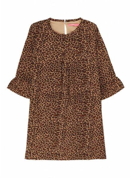 Le Big Kiki Dress Leopard