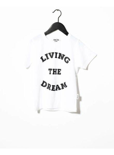 SOMEDAY SOON Dream T-shirt White