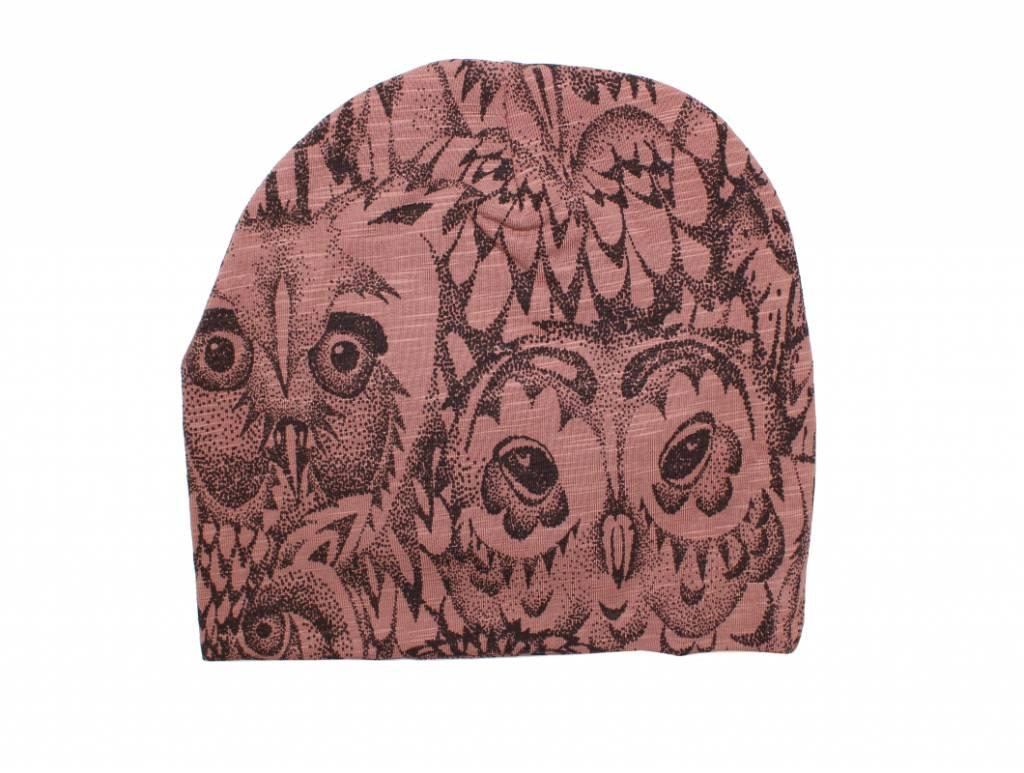 Soft Gallery Beanie burlwood owl