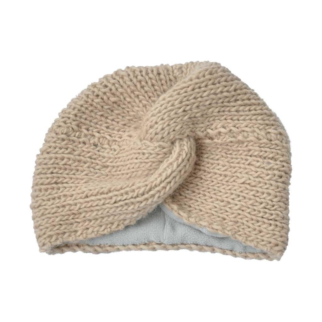 Crane turban beige