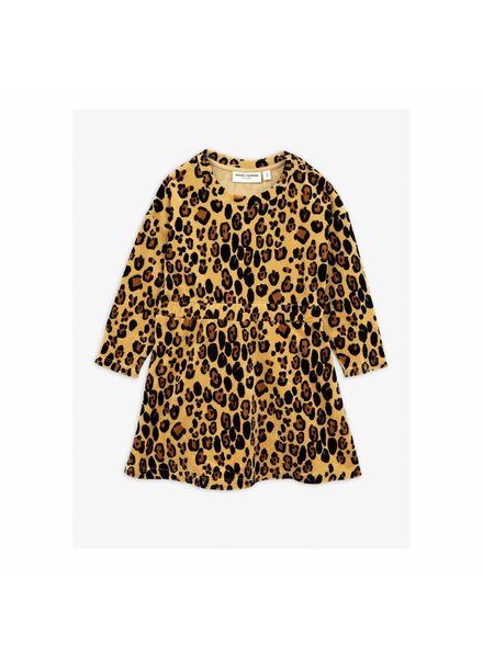 Mini rodini Velour leopard dress