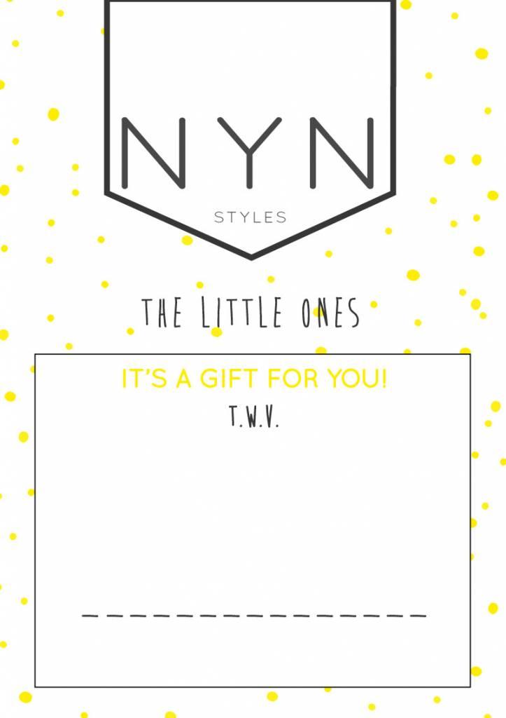 NYNstyles Cadeaubon 15 euro