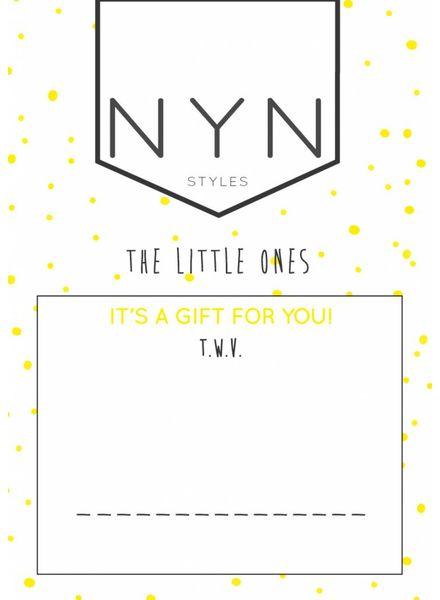 NYNstyles Cadeaubon 20 euro