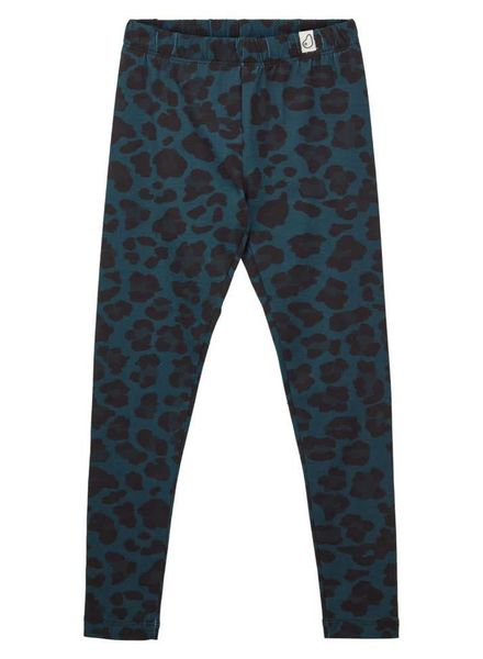 Popupshop Legging green leopard
