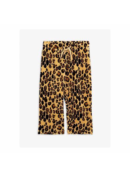 Mini rodini Leopard velour sweatpants