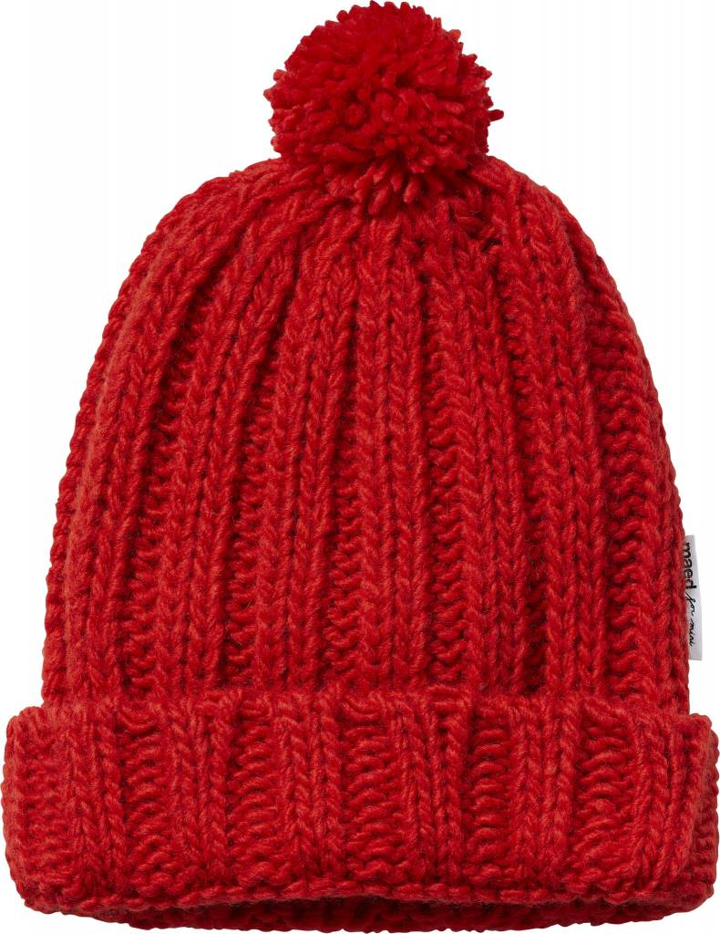 Maed for mini Spicy Parrot knit hat