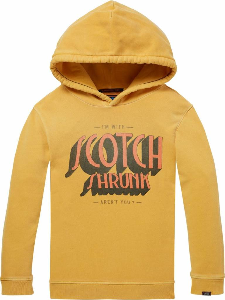 Scotch & Soda Hoodie 145994 Geel