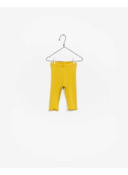 Play Up Rib legging rustic yellow