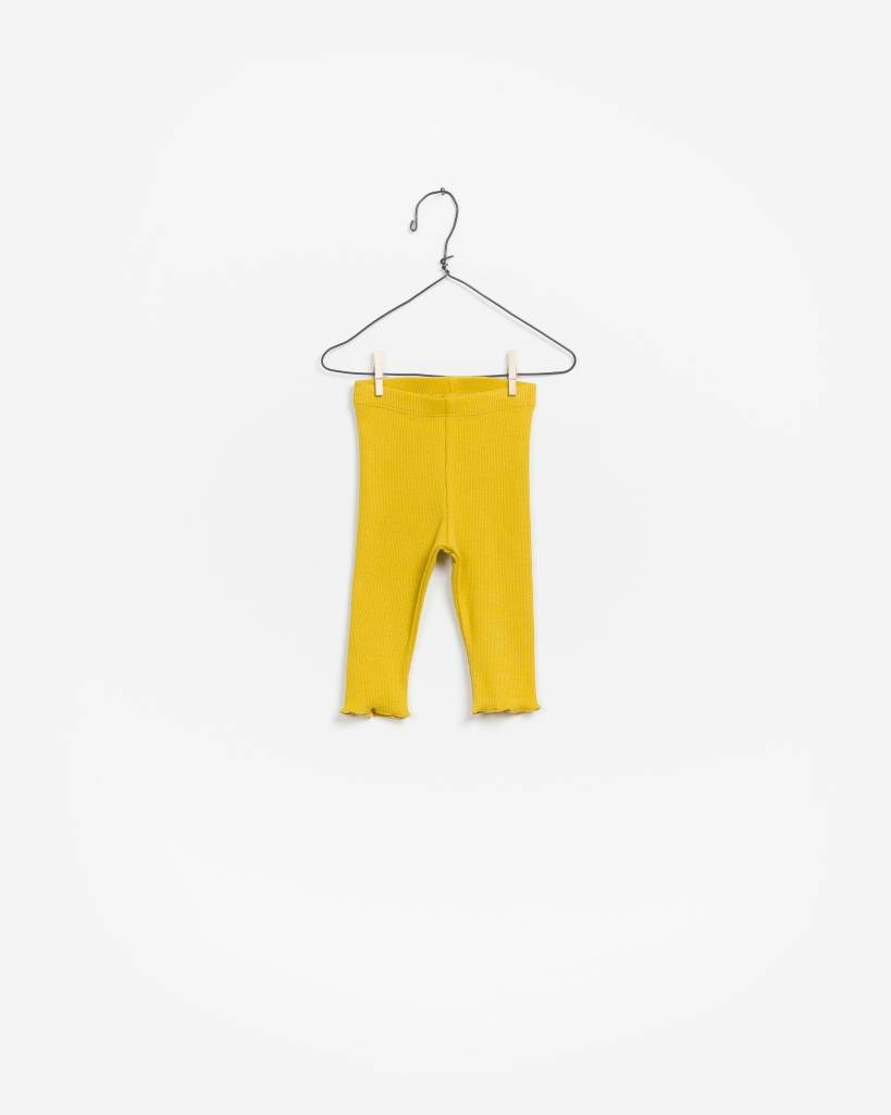 Play Up Rib legging rustic yellow