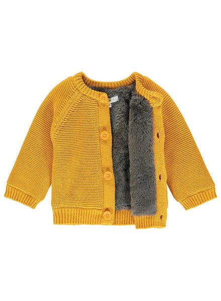 noppies Cardigan knit honey yellow