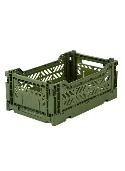 eef lillemor Folding Crate Mini Khaki
