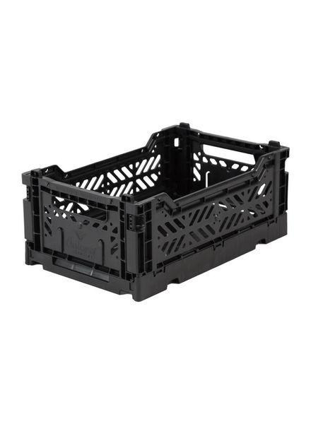 eef lillemor Folding Crate Mini black