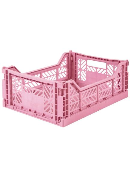 eef lillemor Folding Crate Midi baby pink