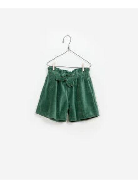 Play Up Velvet green short