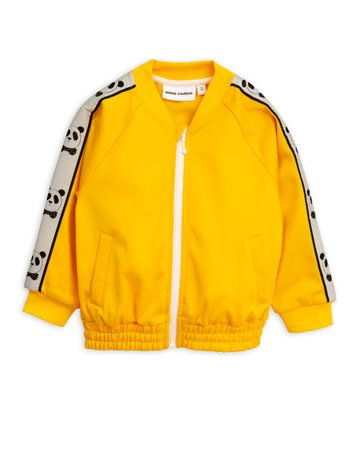 Mini rodini Panda wct jacket yellow