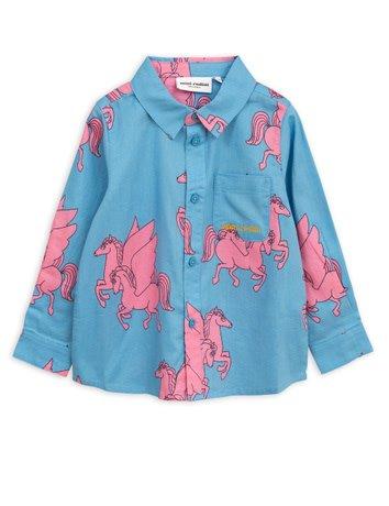 Mini rodini Pegasus woven shirt