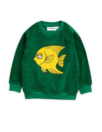 Mini rodini Fish terry sweatshirt