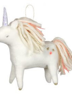Merimeri Unicorn felt tree decoration