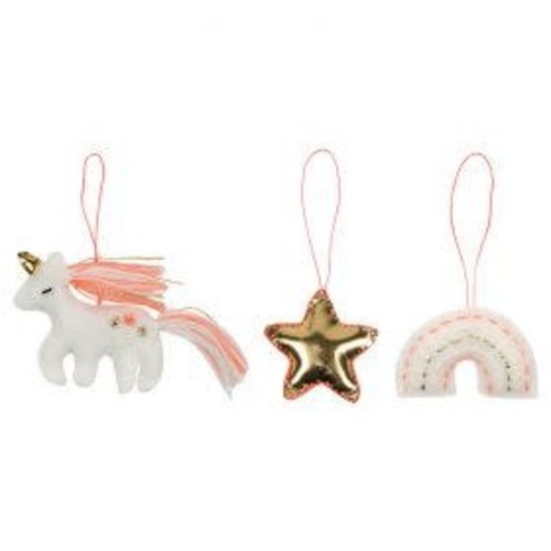Merimeri Magical felt tree decoration set