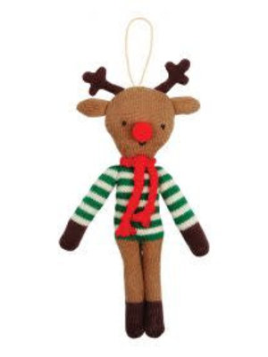 Merimeri Stripy reindeer ornament
